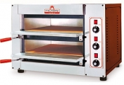 الإسم: Pizza Oven Model: FAST 50   الوصف: فرن بيتزا ايطالي طبقتين يعمل على الكهرباء الأبعاد الخارجية: الطول 78 سم، عمق 68 سم، ارتفاع 53 سم. الأبعاد الداخلية (كل طبقة): الطول 50 سم، عمق 51 سم، ارتفاع 11 سم. الطاقة: 6 كيلوواط عدد الطبقات: 2 - متوسط درجة الحرارة: 500 -60 مئوية.    عدد الزيارات: 1876